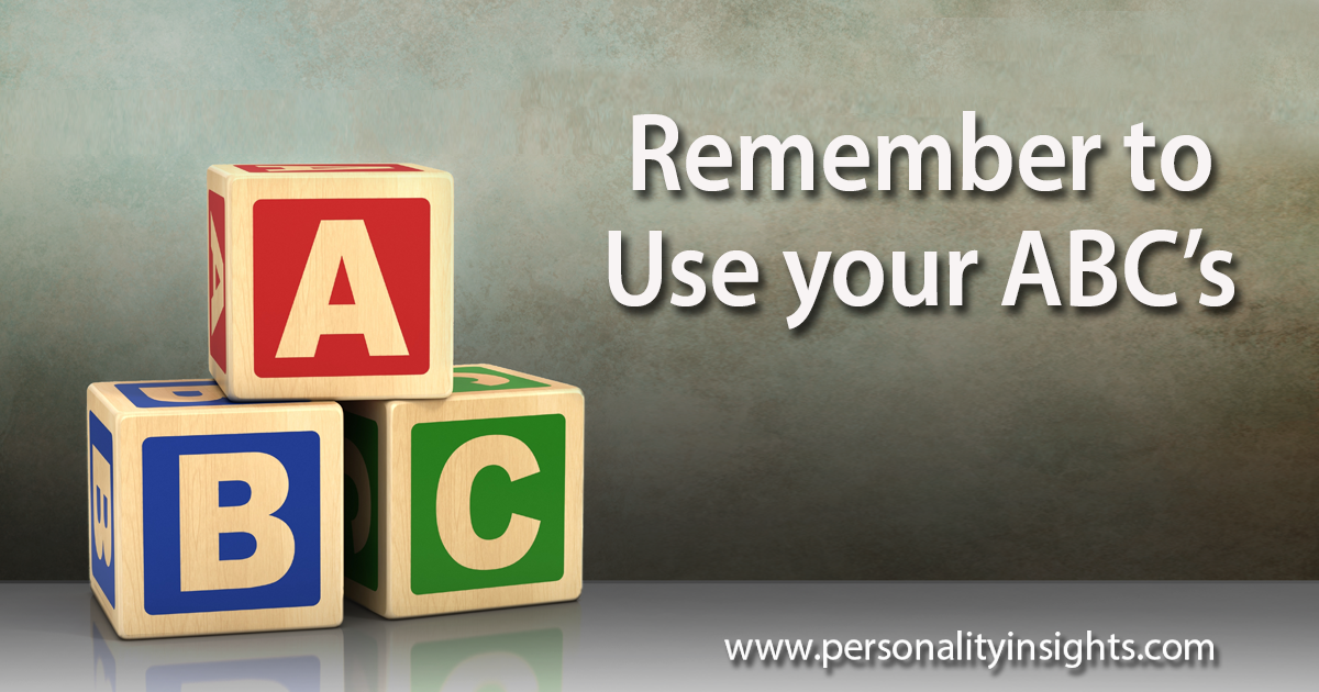 Attitude, Behavior, Conversation – Remember Your ABC's